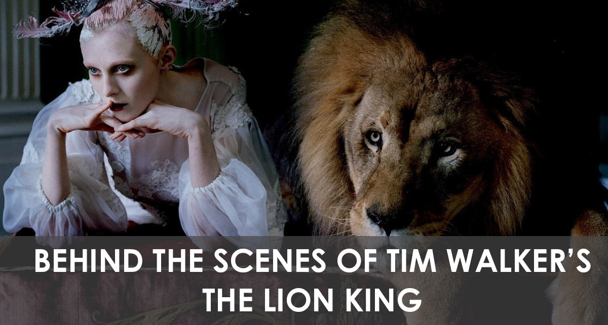 Behind The Scenes of Tim Walker's The Lion King - Love Magazine