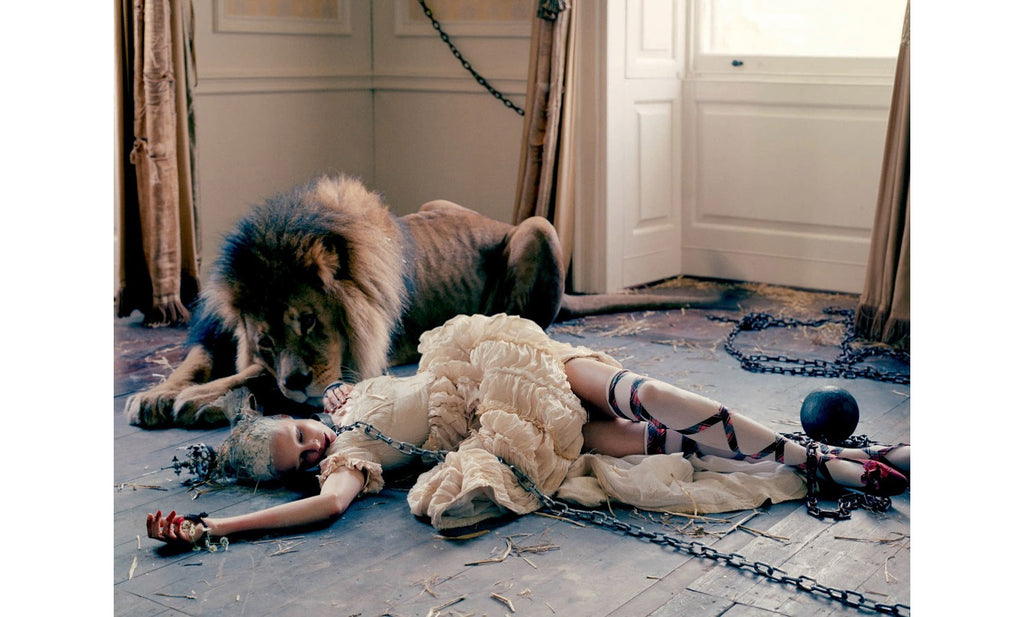 Tim Walker, The Lion King, Love Magazine No. 10 - 12