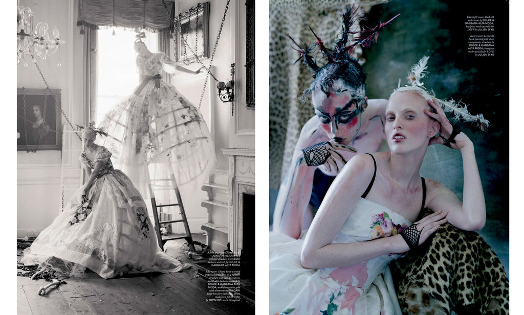 Tim Walker, The Lion King, Love Magazine No. 10 - 2