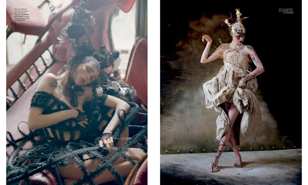 Tim Walker, The Lion King, Love Magazine No. 10 - 4