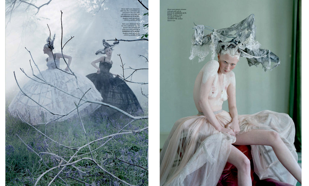 Tim Walker, The Lion King, Love Magazine No. 10 - 5