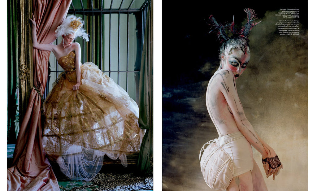 Tim Walker, The Lion King, Love Magazine No. 10 - 7