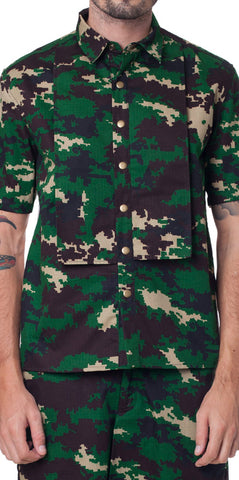 Bleach Camo Shirt