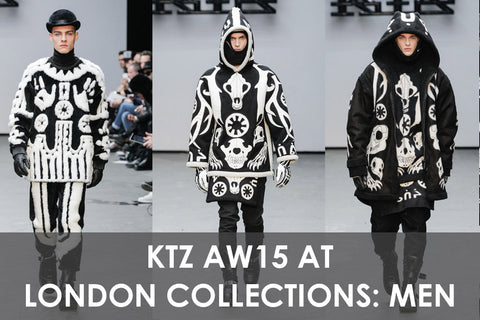 KTZ Autumn Winter 15 at London Collections: Men AW15