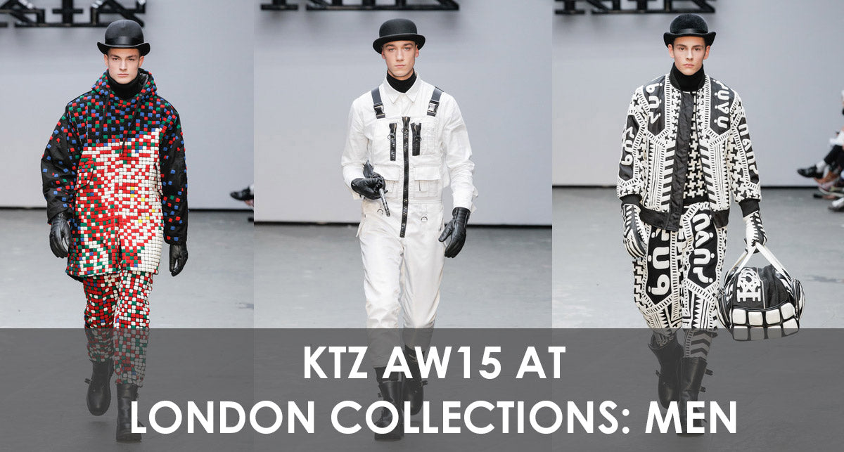 KTZ AW15 at London Collections: Men Autumn Winter 15