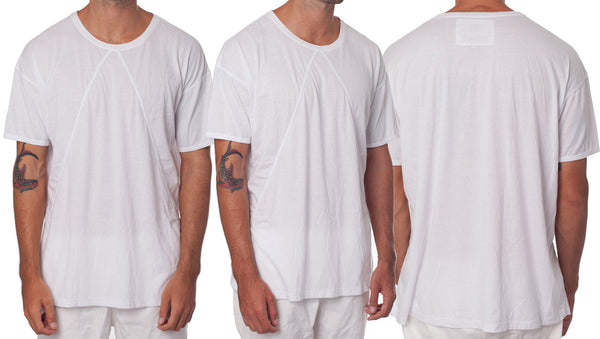 Mens White Oversized T-Shirt