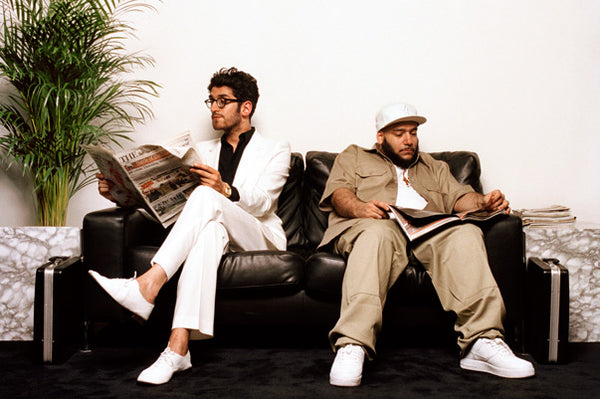 P-Thugg and Dave 1 from Chromeo