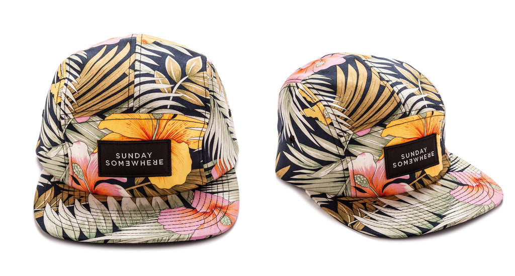 Sunday Somewhere Summer Five Panel Hat