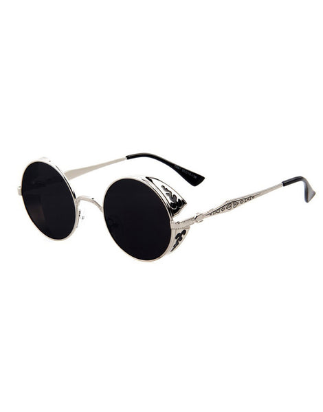 Eighty6 Ornament Silver Sunglasses