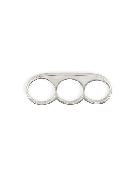 eleven44 Three-Finger Ring Slim Silver