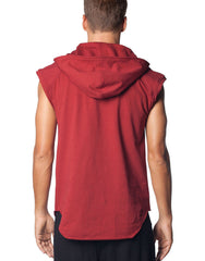 SKINGRAFT Hooded Tunic Red