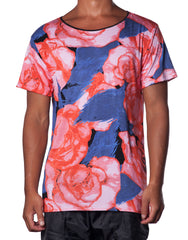 Horn Emporium Frida Rose Tee - All-over printed mens tshirt