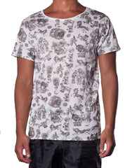 Horn Emporium Magic Circus Tee - All-over printed mens tshirt