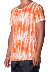 Splatter Tee Orange
