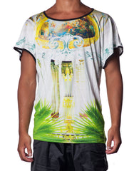 APRIY Versailles Printed Mens Tshirt - Digitally Printed Mens Tshirt
