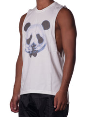 Bleach Panda Bear Cutout Tank