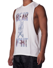 Bleach Bear Fight Cutout Tank