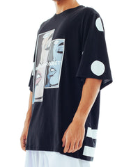 Bleach I Want You Oversized Polka Tee Side