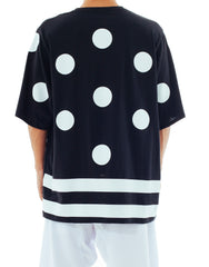 Bleach I Want You Oversized Polka Tee Back