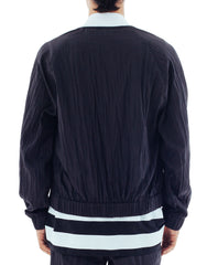 Bleach Project Midnight Running Bomber Jacket Back