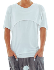Bleach Project Double Layer Tee White Front