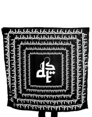 Dystopia Oversized Square Logo Scarf