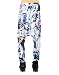 KTZ Gear Print Harem Trousers