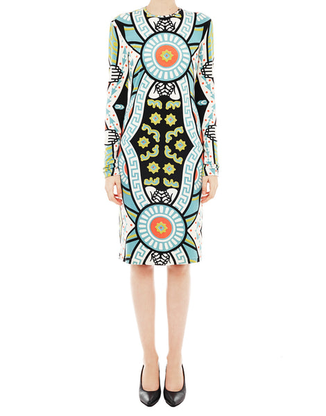 KTZ Multicolour Bodycon Dress