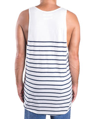 Kapten Singlet White Back