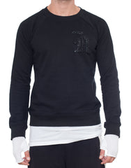 APRIY Caviar Sweater Black Front