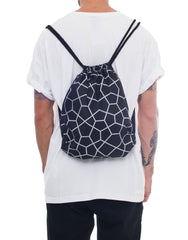 Nemis Midnight Octa Drawstring Bag