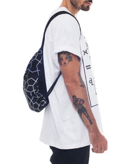 Nemis Midnight Octa Drawstring Bag Side