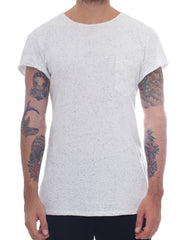 Usual Suspect Rounded Longline Nep Tee Front