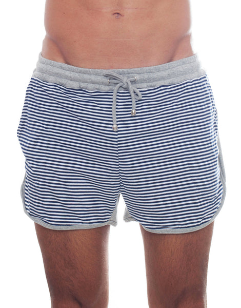 Bleach Sporty Stripes Running Shorts