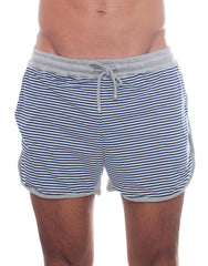 Bleach Sporty Stripes Running Shorts Front