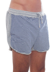 Bleach Sporty Stripes Running Shorts Side