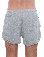 Bleach Sporty Stripes Running Shorts Back