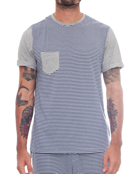 Bleach Sporty Stripes Basic Tee