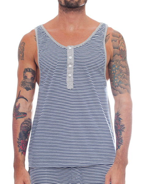 Bleach Sporty Stripes Basic Tank