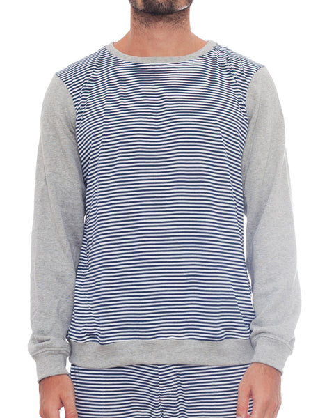 Bleach Sporty Stripes Basic Sweater