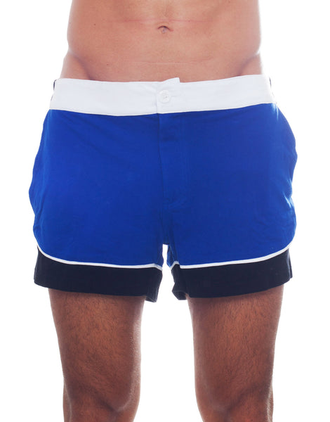 Bleach Colour Block Tennis Shorts