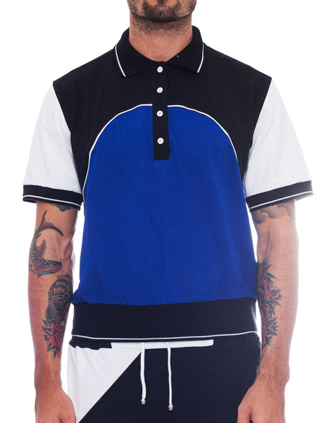 Bleach Project Colour Block Tennis Shirt