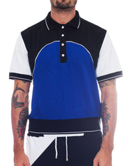 Bleach Project Colour Block Tennis Shirt Front