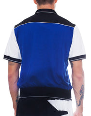 Bleach Project Colour Block Tennis Shirt Back