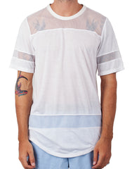 Bleach Hockey Mesh Tee White