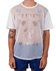Bleach Mesh Basketball Tee