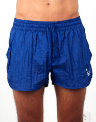 Bleach Navy Classic Running Shorts