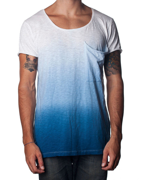 Nemis Bottom-Up Tee Blue