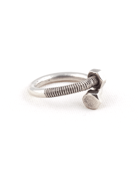 Beneath The Roses Bent Bolt Ring