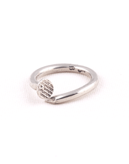 Beneath The Roses Bent Nail Ring - Mens Ring - Mens Jewelry
